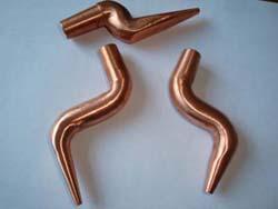 深圳宝安石岩电阻焊机厂家供应用于焊接的氧化铝铜电极 电阻焊机配件 焊机电极头/焊嘴