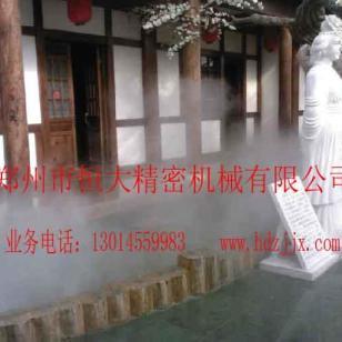 河南郑州雾森人造雾设计安装图片