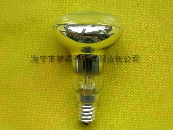 供应R50反射灯泡透明E14白炽灯泡白炽灯