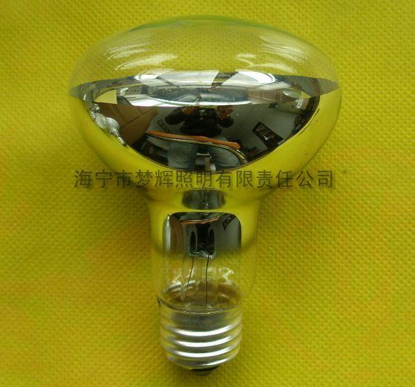 供应R80反射灯泡透明E27