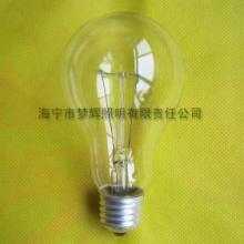 供应A21普通灯泡白炽灯照明E27透明