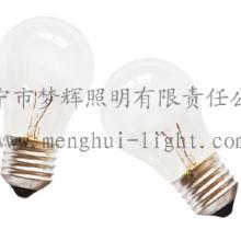 供应A47普通灯泡透明白炽灯E27B22照明