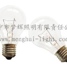 供应A60普通灯泡透明白炽灯E27B22照明