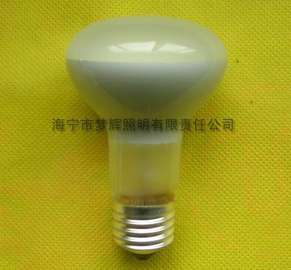 供应R63反射灯泡磨砂E27白炽灯泡白炽灯