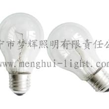 供应A55普通灯泡透明白炽灯E27照明