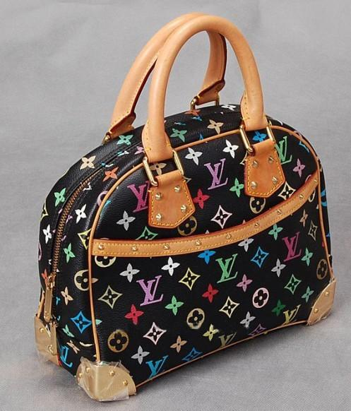 世界 女包/供应世界品牌女包 色彩花纹LV路易威登女包图片