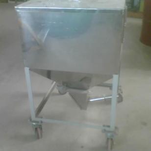 不锈钢储料箱/塑料储料图片