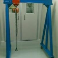 供应维修用龙门架 维修起重龙门架 手拉葫芦龙门架