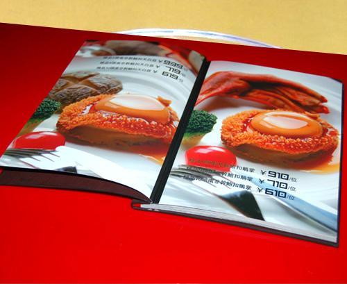 契约印刷样板 图片印刷菜谱图 徐州淮阴菜谱设菜谱食之菜谱作料图片