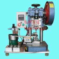 供应振动盘送料半自动银点铆合机,半自动铆银点机
