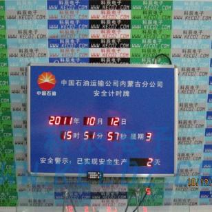 中国石油安全计时牌图片