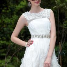 供应夏季短款礼服时尚性感新娘礼服主持小礼服欧美礼服批发