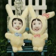 郑州3D立体人面玩偶技术培训图片