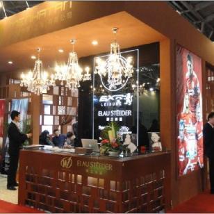中国国际皮革展展台搭建厂图片