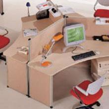 供应订做隔断式办公桌