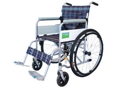 折叠轮椅使用方法图片