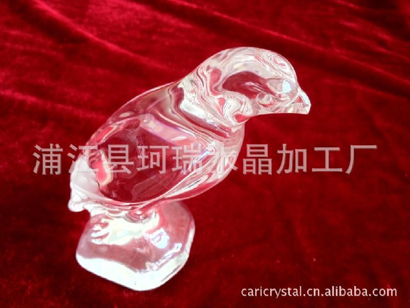 供应异形立体水晶鸟压型加工