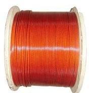 防水耐腐裹尼龙包胶钢丝绳图片
