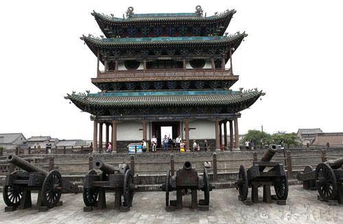 荣国旅行社生产供应山西著名景点平遥古城图片
