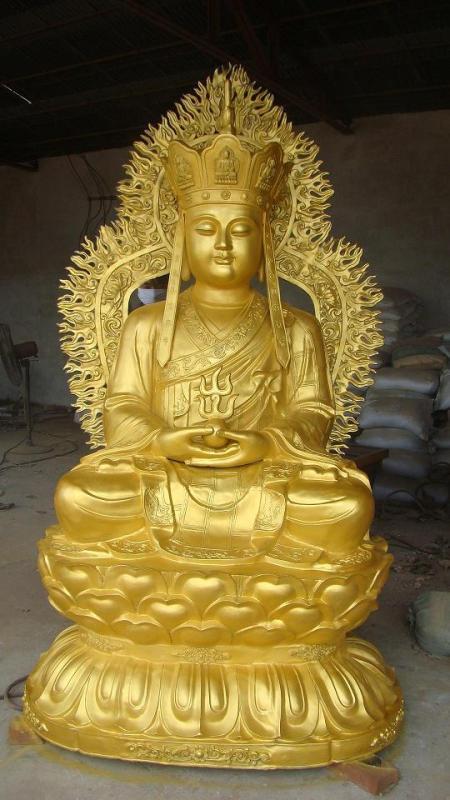 唐县铸铜佛像地藏王菩萨图片