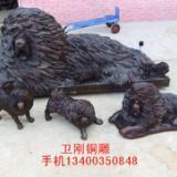 供应动物雕塑、铸铜藏獒,铜雕塑厂家,铜雕工艺品厂