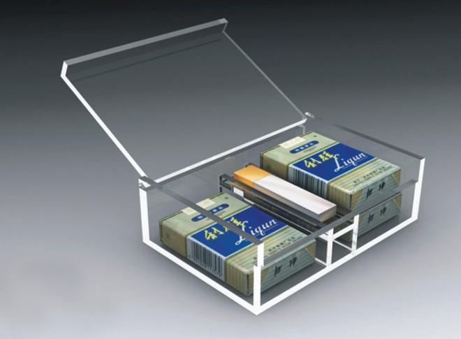 供应亚克力透明烟盒|有机玻璃盒子|上海透明塑料盒子厂家