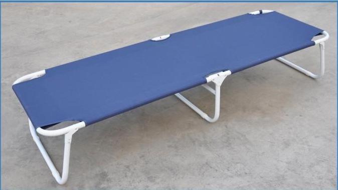 出口三折床,柜子折叠床,办公室柜子可置放的折叠床供应西班牙伞车图片