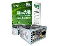 供应河南长城电源静音大师BTX-400SD/额定300W台式机电源批