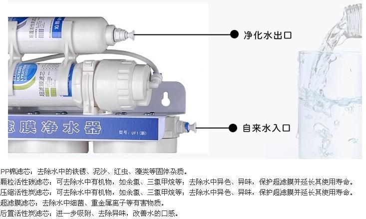 供应上海沁园净水器UF1新净水器