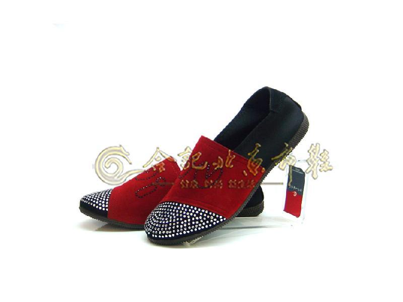 供应合记老北京布鞋加盟传统布鞋时装鞋,传统布鞋图片