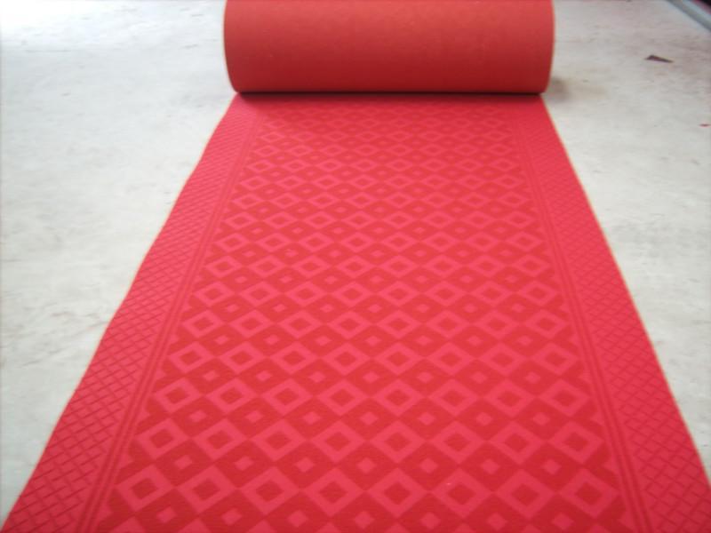 供应大红拉绒地毯及走廊毯