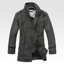 供应外贸服装批发市批发新款粗花呢大衣图片