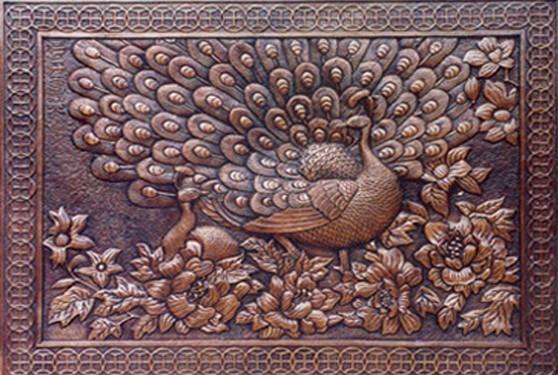 铜壁画 锻铜浮雕 铜浮雕