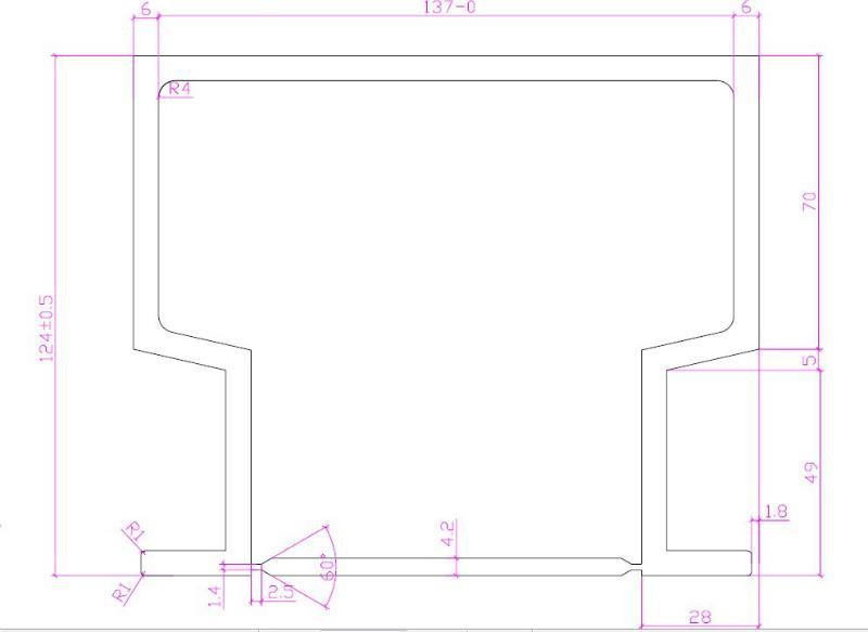 供应深圳宝安铝模板型材批发/深圳铝模板型材最低价格