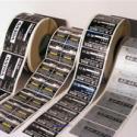 南宁印刷铝状的不干胶图片