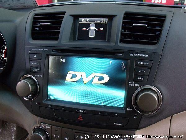 供应汉兰达改装卡仕达dvd导航
