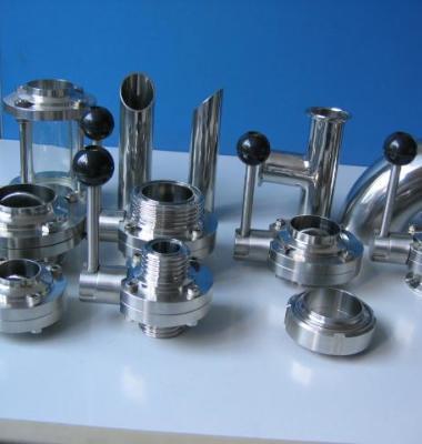 卫生级焊接蝶阀图片/卫生级焊接蝶阀样板图 (3)