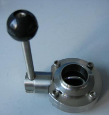 卫生级焊接蝶阀图片/卫生级焊接蝶阀样板图 (1)