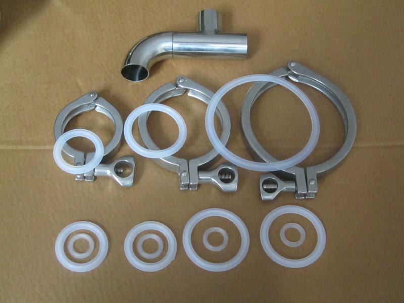 供应不锈钢卡箍、精铸卡箍、快装卡箍