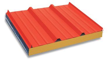 供应岩棉夹芯彩钢板