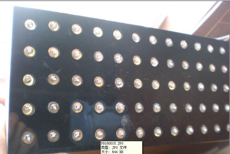 供应LED单色外露灯串、全彩LED外露灯串