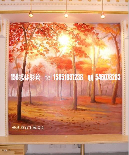 枫树手绘图片简单画法
