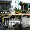 40吨中频炉钢壳图片