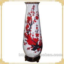 供应北京特色工艺品景泰蓝天柱花瓶16寸