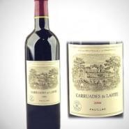 法国拉菲副牌红葡萄酒2006小拉图片