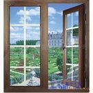 供应铝合金复合方格窗安装