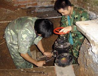 供应水管安装工程服务