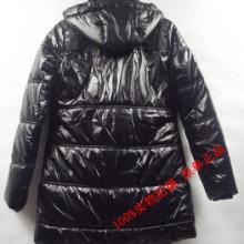 供应广州欧美原单秋冬装女装中长款时尚羽绒服批发厂家报价