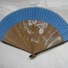 供应上海广告折扇印刷广告绢扇真丝扇日系折扇定制批发