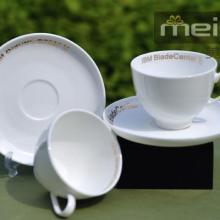 供应上海婚庆礼品杯情侣瓷杯陶瓷口杯白瓷对杯定制印刷广告